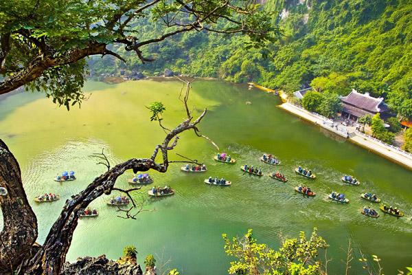 Tràng An - Khu du lịch hấp dẫn nhất tại Ninh Bình