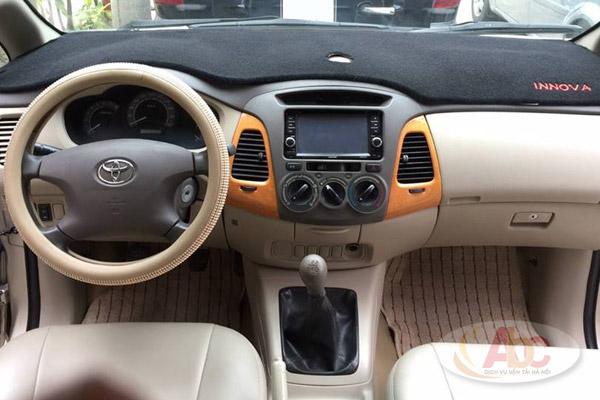 Hình ảnh khoang lái dòng xe Toyoa Innova