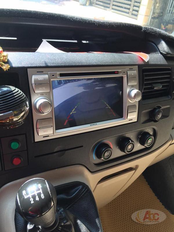 Hình ảnh các tiện ích bên trong xe