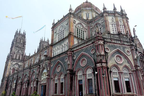 Nhà thờ Kiên Lao nổi tiếng ở Nam Định