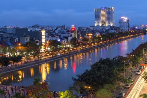 Thành phố Hải Phòng về đêm
