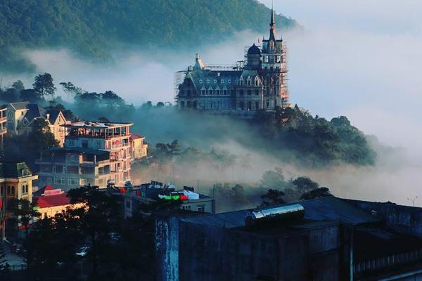 Thị trấn Tam Đảo - Vĩnh Phúc