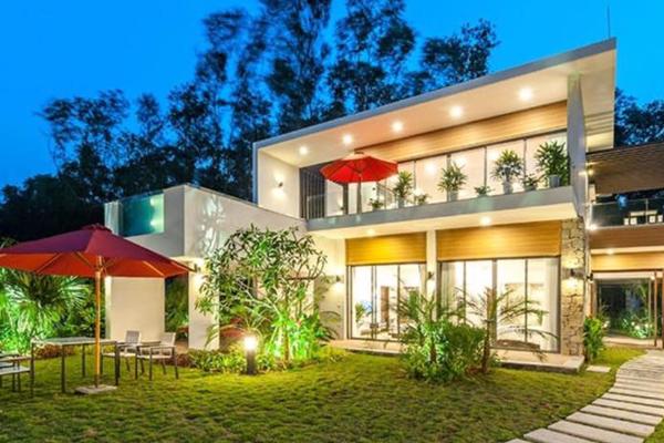 Ngôi nhà trong khu nghỉ dưỡng Flamingo Đại Lải Resort