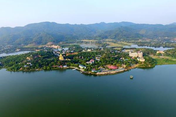 hồ Núi Cốc, Thái Nguyên