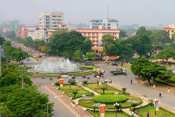 Trung tâm thành phố Thái Nguyên