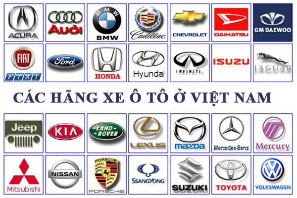 Các hãng xe ô tô ở Việt Nam