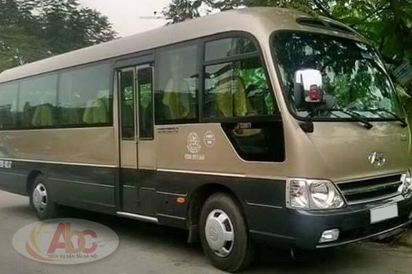 Công ty cho thuê xe 29 chỗ đi Sầm Sơn giá rẻ, uy tín tại Hà Nội
