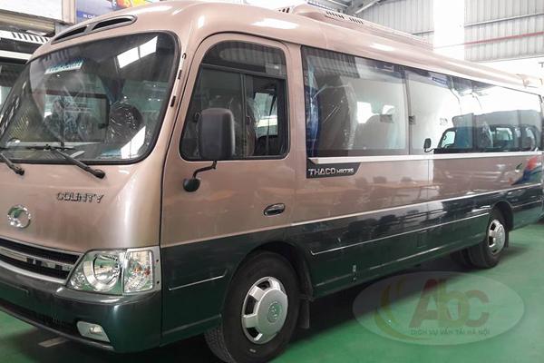 Công ty cho thuê xe 29 chỗ đi du lịch Mộc Châu giá rẻ tại Hà Nội