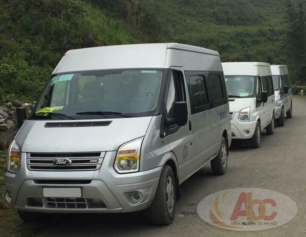 Công ty cung cấp cho thuê xe 16 chỗ đi du lịch biển Hải Tiến giá rẻ tại Hà Nội