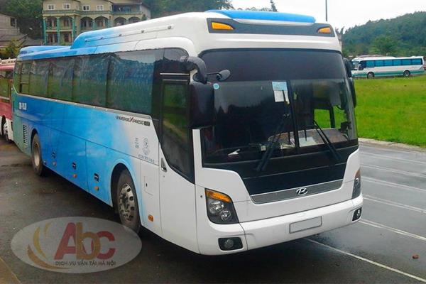 Công ty chyên cho thuê xe 45 chỗ đi Yên Tử giá rẻ tại Hà Nội.
