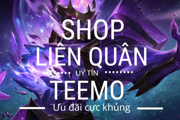 Quá nhiều ưu đãi từ Shop Teemo