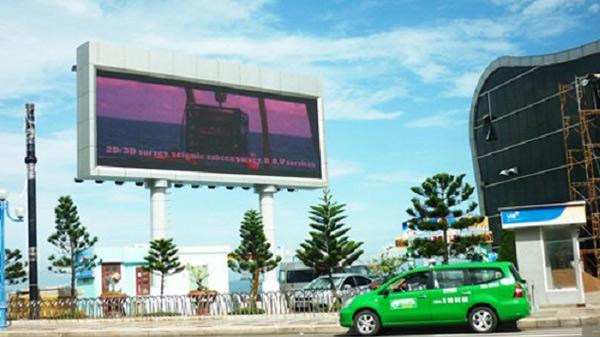 Màn hình led quảng cáo tại một vị trí khá đẹp