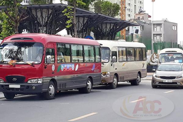 Xe đưa đón học sinh bằng dòng xe 29 chỗ Huyndai County
