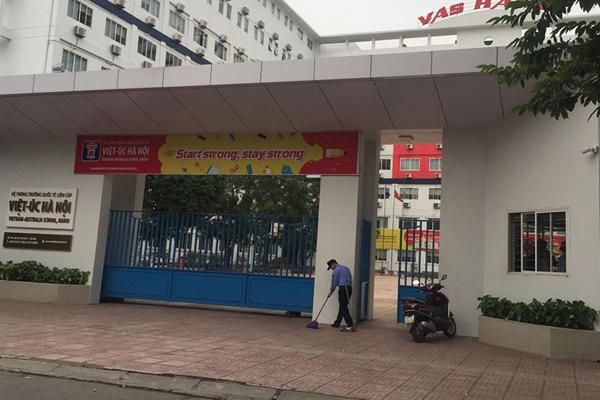 Cổng trường quốc tế liên cấp Việt - Úc.