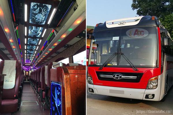 Dịch vụ cho thuê xe 45 chỗ chất lượng, siêu ưu đãi tại Hà Nội