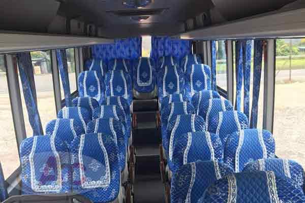 Hình ảnh nội thất và ghế ngồi
