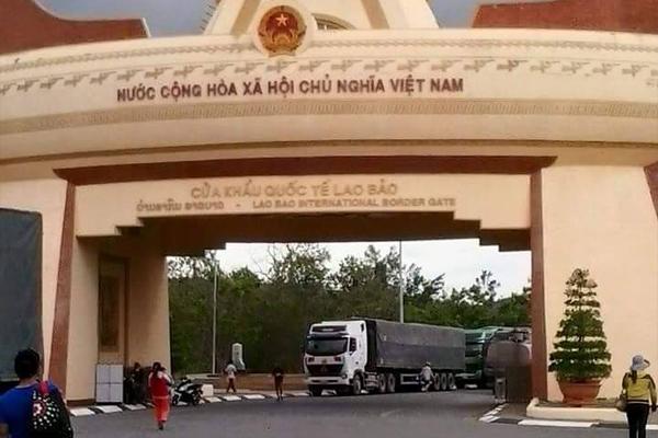Cửa khẩu Lao Bào