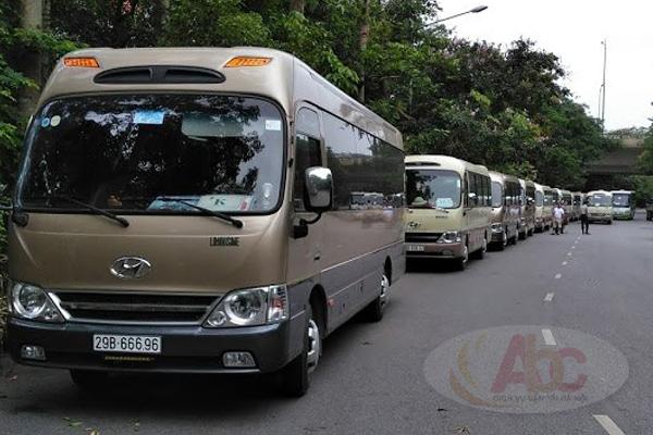 Văn phòng cho thuê xe đi Mộc Châu du lịch từ 4 chỗ đến 45 chỗ tại Hà Nội