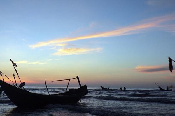 Vẻ đẹp hoang sơ, bình yên của vùng biển ở huyện Hải Hậu