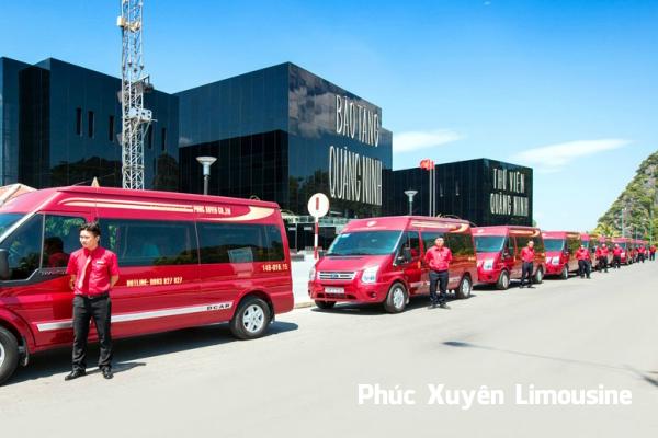 Phúc Xuyên Limousine mang tới trải nghiệm đẳng cấptuyến Quảng Ninh.