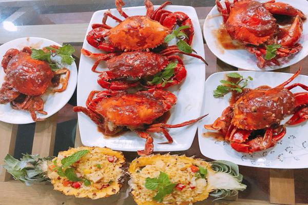 món cua biển nổi tiếng đồ Sơn