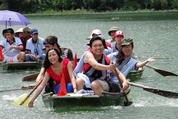 Khu du lịch Tràng An luôn là điểm đến hấp dẫn của Ninh Bình