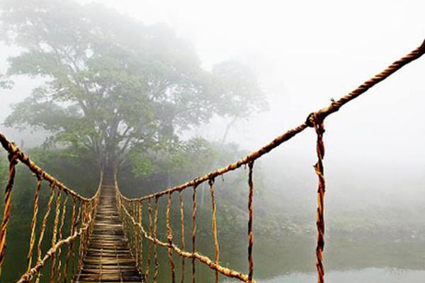 Cầu mây Tả Van của nhiếp ảnh Skip Nall, chụp trong dịp cùng bạn đi du lịch tại Sa Pa.