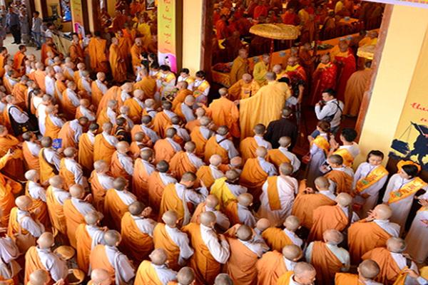 đại lễ Vu Lan được tổ chức hàng năm