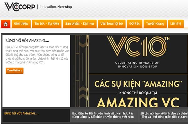 Công ty CP VCCorp (VCCorp)