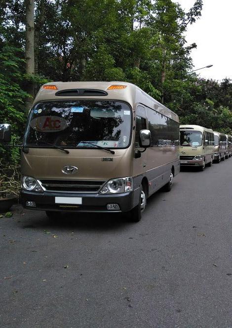 Dịch vụ cho thuê xe 29 chỗ đi Ninh Bình tại ThuexeAbc.vn