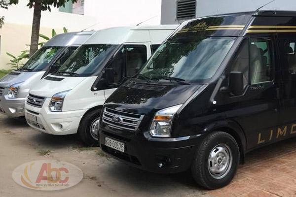 Công ty chuyên cho thuê xe 16 chỗ đi Nội Bài giá rẻ tại Hà Nội
