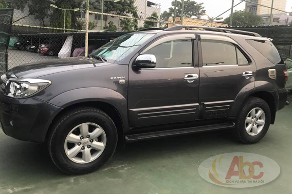 Xe Toyota Fortuner 7 Chỗ 2016