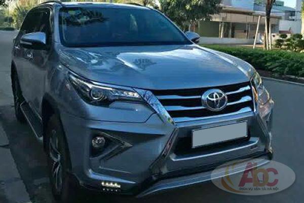Cho thuê xe Toyota Fortuner có lái giá rẻ tại Hà Nội