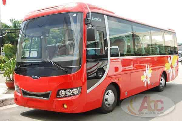 Địa chỉ chuyên cho thuê xe 35 chỗ giá rẻ tại Hà Nội.