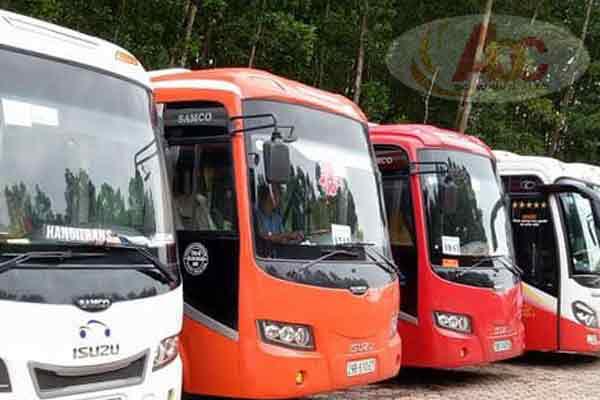 Dịch vụ chuyên cho thuê xe du lịch 35 chỗ giá rẻ tại Hà Nội