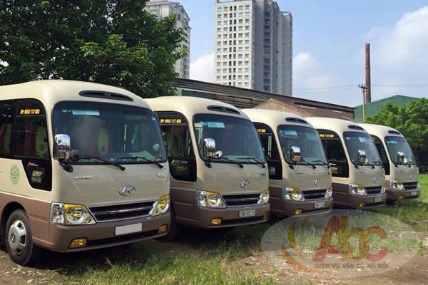 Công ty chuyên cho thuê xe 29 chỗ đi Thanh Hóa giá rẻ - chuyên nghiệp tại Hà Nội