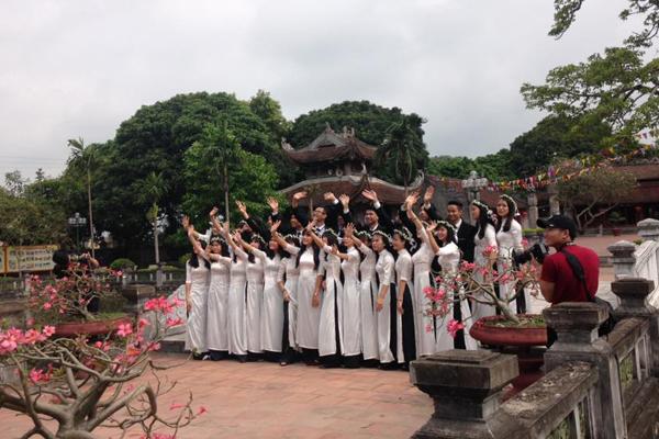 Văn miếu Mao Điền - nơi được công nhận là di tích cấp quốc gia ở Hải Dương