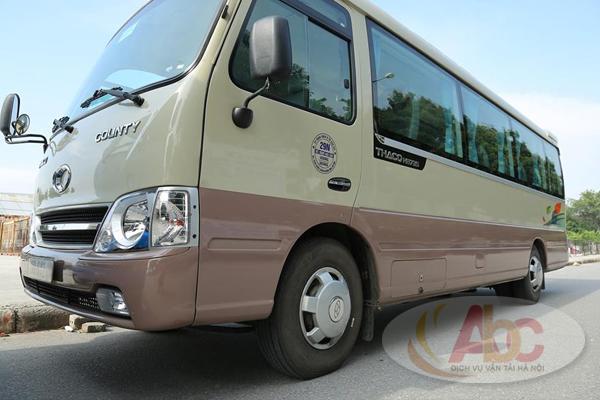 Công ty chuyên cho thuê xe 29 chỗ đi Phú Thọ giá rẻ tại Hà Nội