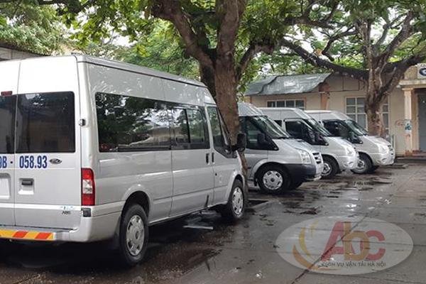 Công ty cho thuê xe 16 chỗ đi Hải Phòng giá rẻ tại Hà Nội