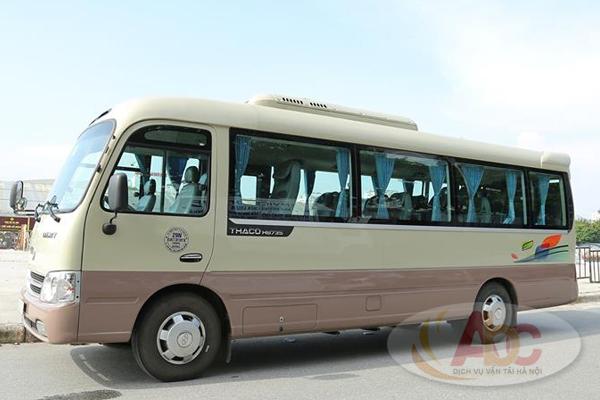 Công ty chuyên cho thuê xe 29 chỗ đi Hải Phòng trọn gói 2 chiều, giá rẻ tại Hà Nội
