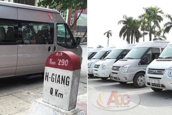 Công ty cho thuê xe 16 chỗ đi du lịch Hà Giang
