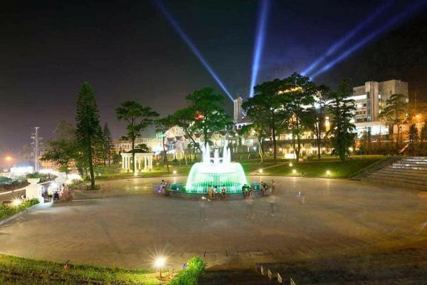 Công viên vui chơi tại trung tâm thị trấn Tam Đảo