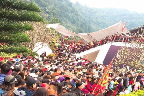 Lễ hội Tây Thiên được tổ chức 15/2 âm lịch hàng năm