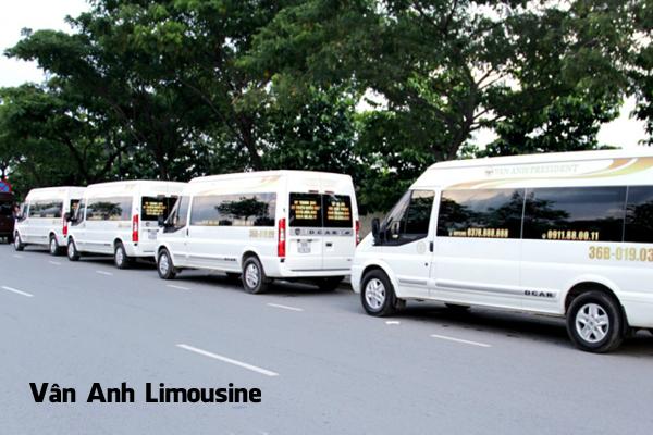 Nhà xe Vân Anh Limousine chuyên chạy tuyến Hà Nội – Thanh Hóa.