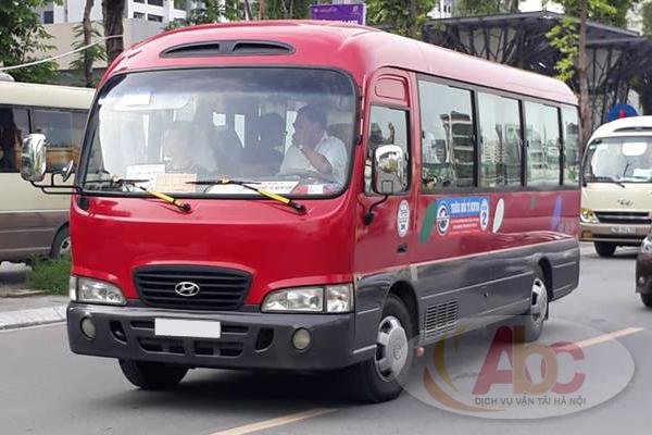 Cho thuê xe 29 chỗ đi Nam Định
