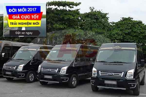 Chuyên cho thuê xe 16 chỗ giá rẻ tại Hà Nội
