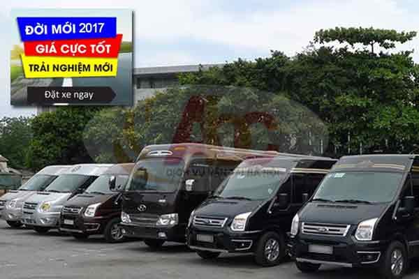 Chuyên cho thuê xe du lịch 16 chỗ có lái giá rẻ tại Hà Nội