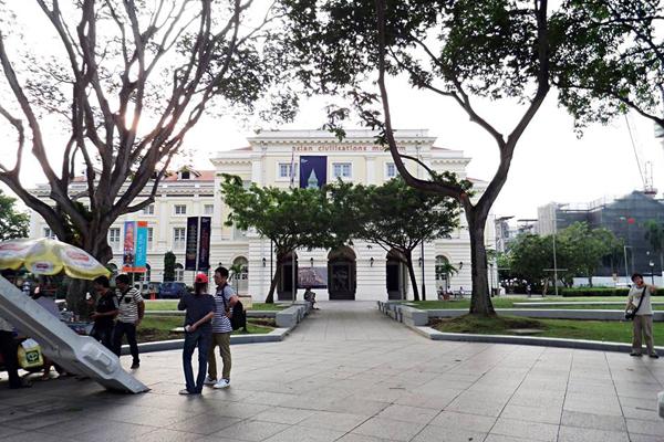 Bảo tàng văn minh Châu Á (Asian Civilisations Museum)